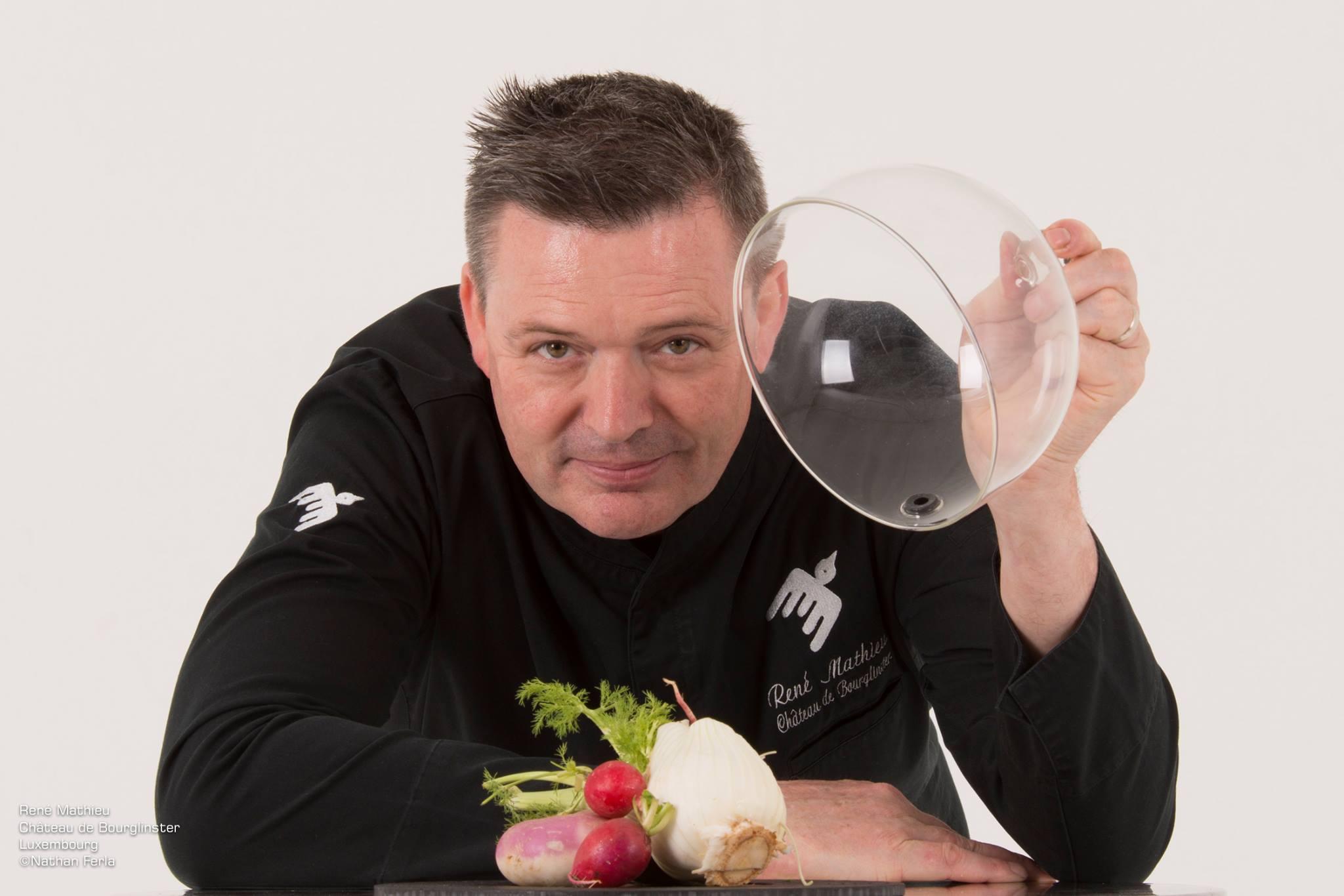 René mathieu chef étoilé à la Distillerie, meilleur restaurant végétal du monde !